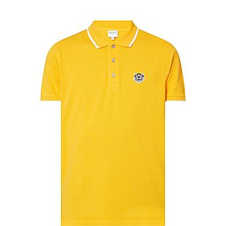 Tiger Logo Polo Shirt