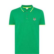 Tiger Logo Polo Shirt
