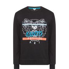 Overprint Tiger Sweatshirt