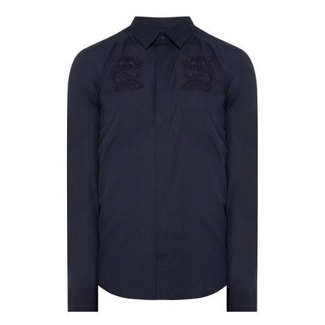 Embroidered Dragon Shirt, ${color}
