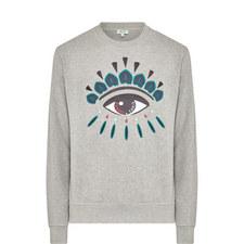 Iconic Eye Crew Neck Sweatshirt