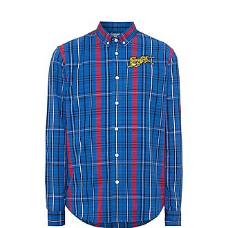 Jumping Tiger Casual Checked Shirt
