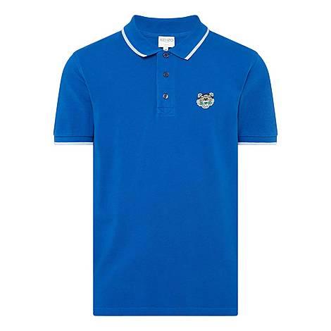 Tiger Logo Polo Shirt, ${color}