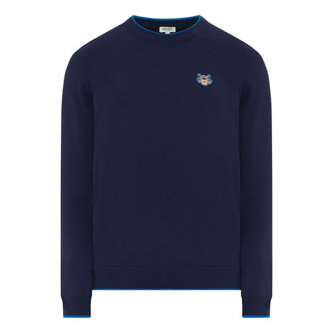 Tiger Crew Neck Sweater, ${color}