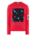 Dots Crew Neck Sweater, ${color}