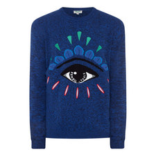 Eye Print Sweater