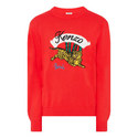 Bamboo Tiger Crew Neck Sweater, ${color}
