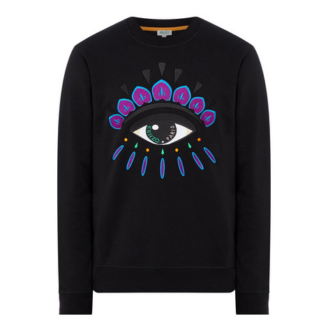 Iconic Eye Crew Neck Sweatshirt, ${color}