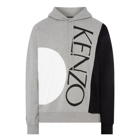 Colour Block Logo Hoodie, ${color}