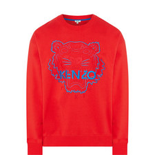 Tiger Crew Neck Sweatshirt