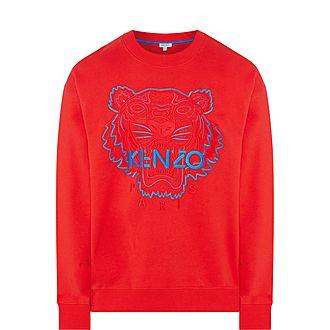 Tiger Crew Neck Sweatshirt