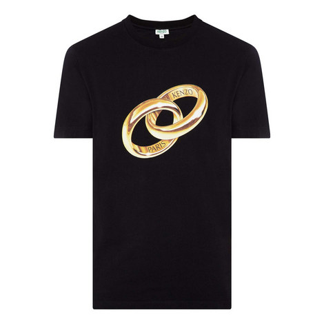 Double Ring Print T-Shirt, ${color}