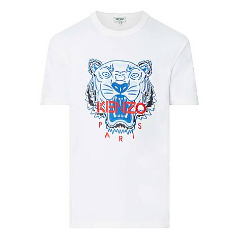 Embroidered Tiger T-Shirt, ${color}