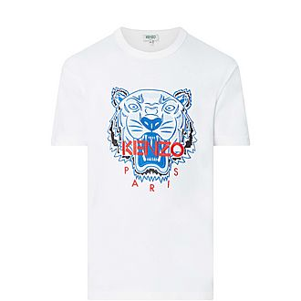 Embroidered Tiger T-Shirt