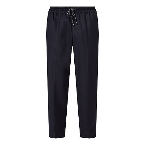 Cropped Tapered Trousers, ${color}