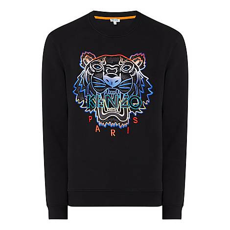 Gradient Tiger Sweatshirt, ${color}