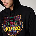 Multicolour Tiger Logo Hoodie, ${color}