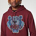 Tiger Logo Hoodie, ${color}
