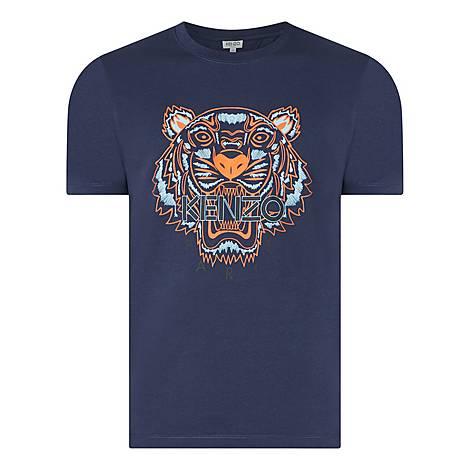 Tiger Head Logo T-Shirt, ${color}