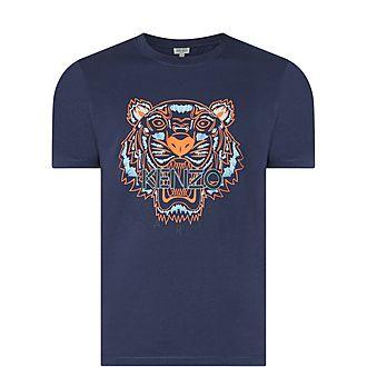 Tiger Head Logo T-Shirt