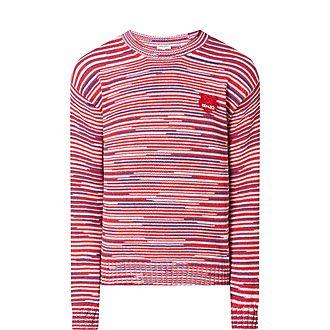 Space Dye Sweatshirt
