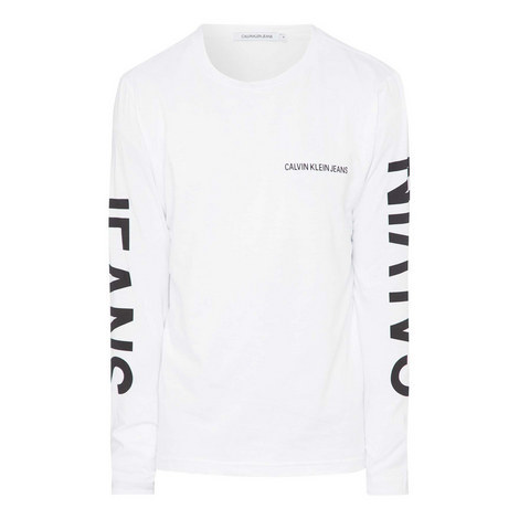 Long Sleeve Logo T-Shirt, ${color}