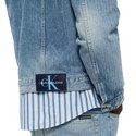 Colour Block Denim Jacket, ${color}
