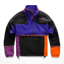 Colour-Block Fleece Jacket