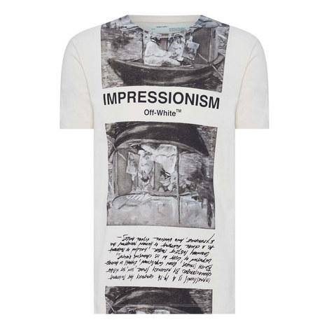 Newspaper Print T-Shirt, ${color}