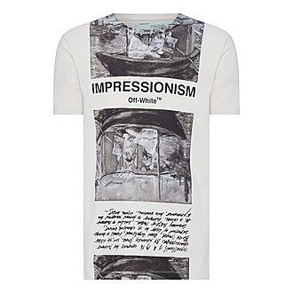 Newspaper Print T-Shirt