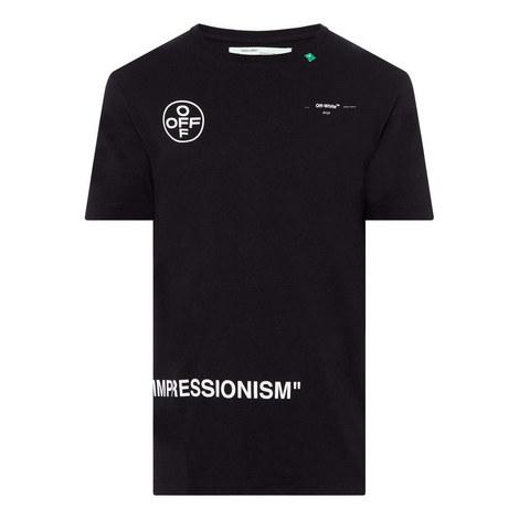 Impressionism Arrow T-Shirt, ${color}
