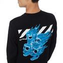 Diago Skulls Long Sleeve T-Shirt, ${color}