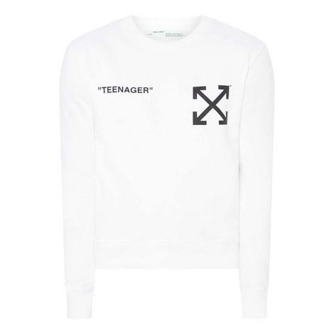 Flame Bart Sweatshirt, ${color}