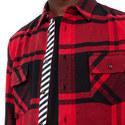 Stencil Flannel Shirt, ${color}