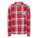 Checked Zip Shirt, ${color}