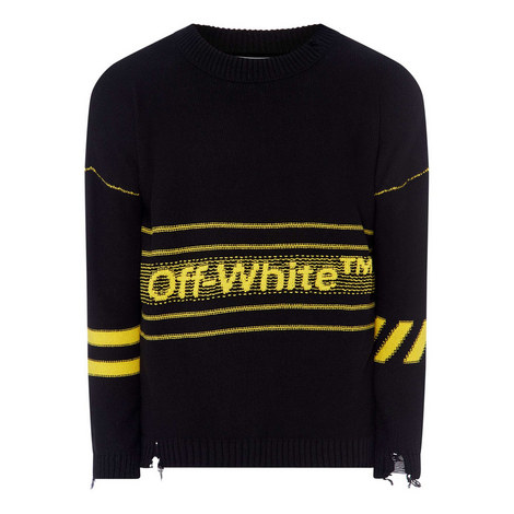 Logo Stripe Sweater, ${color}