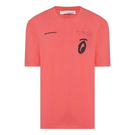 Split Arrows T-Shirt, ${color}