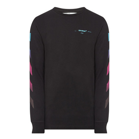 Long Sleeve Gradient T-Shirt, ${color}