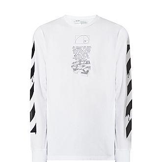 Drip Arrow Long Sleeve T-Shirt
