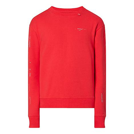 Unfinished Slim Fit Sweatshirt, ${color}
