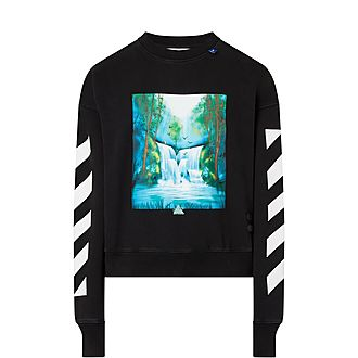 Waterfall Crew Neck Sweatshirt