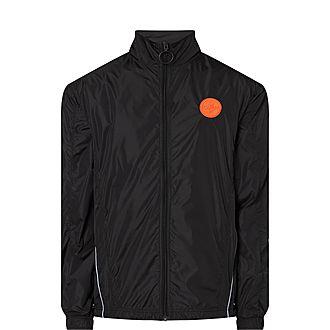 Logo Panel Zip-Up Jacket