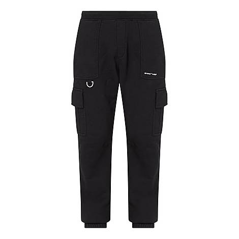 Logo Cargo Sweatpants, ${color}