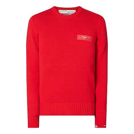 Logo Crew Neck Sweater, ${color}