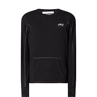 Kangaroo Pocket Long Sleeve T-Shirt