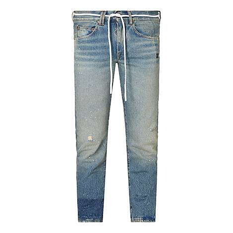 New Vintage Rope Tie Jeans, ${color}