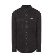 Denim Gradient Arrow Shirt