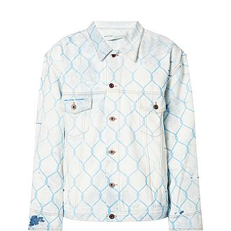 Metal Fence Denim Jacket