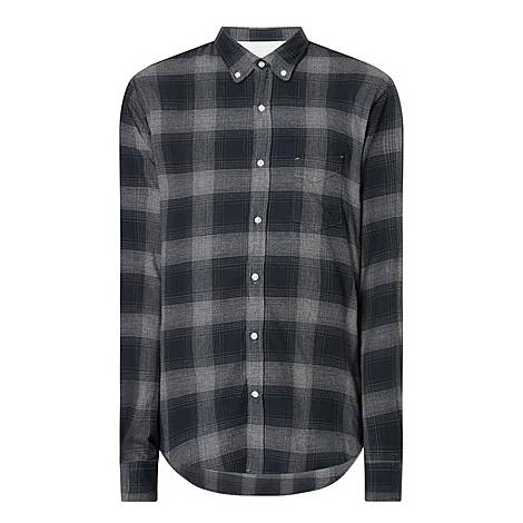 Shadow Check Shirt , ${color}