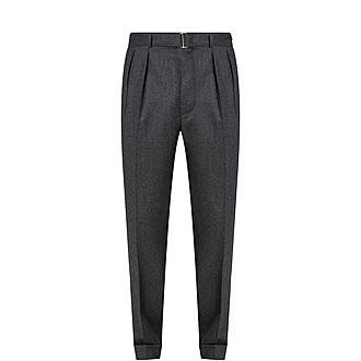 Pierre Flannel Wool Trousers